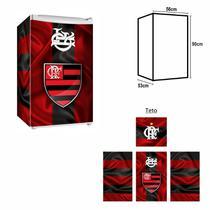 Adesivo Envelopamento De Frigobar FL021 Flamengo Md90 - Geladeiramania