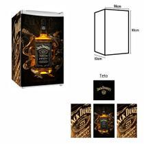 Adesivo Envelopamento Frigobar Jd027 Jack Daniels Md90 - Geladeiramania