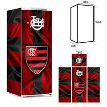 Adesivo Envelopamento Geladeira FL021 Flamengo M162 - Geladeiramania
