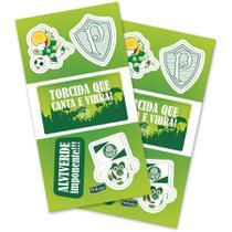 Adesivo Especial 4 Cartelas - Palmeiras - Festcolor -