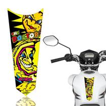 Adesivo Faixa Gravata Tanque Moto Cg 125/150/160  Titan Fan Start The Doctor 46 - Cobra Motoparts