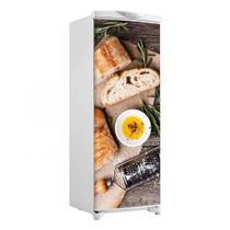 Adesivo Geladeira Envelopamento Porta Pão E Alecrim - 180x65cm - Sunset Shop