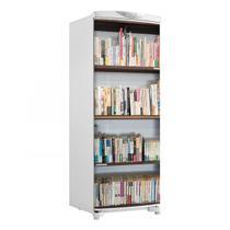 Adesivo Geladeira Envelopamento Porta Prateleira Livros - 180x65cm - Sunset shop
