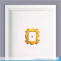 Adesivo moldura porta friends - Sua casa personalizada