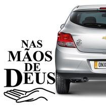 Adesivo Nas Mãos De Deus Decorativo Para Carro Notebook - Sportinox