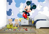 Adesivo Painel Papel Parede Infantil Mickey Mouse Menino - Conspecto