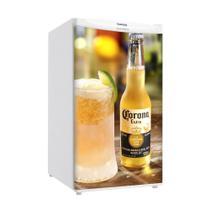 Adesivo Para Envelopamento De Frigobar Cerveja Corona Porta 90 X 60 cm - Sunset Adesivos