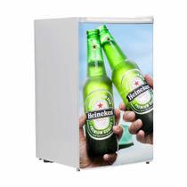 Adesivo Para Envelopamento De Frigobar Cerveja Heineken 2 Garrafas Porta 90 X 60 cm - Sunset adesivos