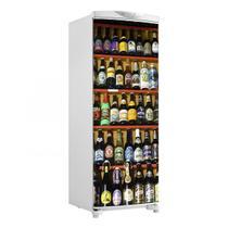 Adesivo Para Envelopamento De Geladeira Porta Prateleira De Bebidas 150X60cm - Sunset Adesivos