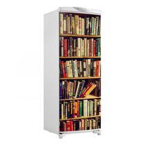 Adesivo Para Envelopamento De Geladeira Porta Prateleira De Livros Mod2 150X60cm - Sunset adesivos