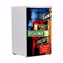 Adesivo Para Frigobar Broadway Signs Porta 90 X 60 cm - Sunset adesivos