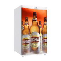 Adesivo Para Frigobar Cerveja Brahma Garrafas Geladas Porta 90 X 60 cm - Sunset Adesivos