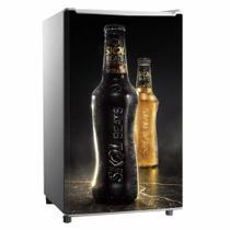 Adesivo Para Frigobar Garrafas Cerveja Skol Beats Map Porta 90 X 60 cm - Sunset Adesivos