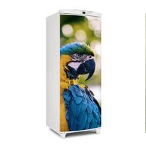 Adesivo Para Geladeira Porta Arara Azul - 180x65cm - Sunset Shop