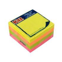 Adesivo para recado neon c/300fls - Kaz