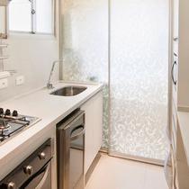 Adesivo Para Vidro Box Banheiro Jateado Condessa 0,61m Prova D'Agua - Tacolado