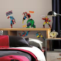 Adesivo Personagens Marvel Avengers RMK2328SCS -