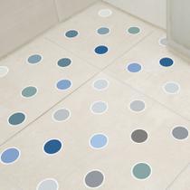Adesivo Piso Banheiro Antiderrapante Bolinhas Frias 14un - Quartinhos