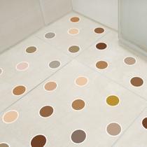 Adesivo Piso Banheiro Antiderrapante Bolinhas Quentes 14un - Quartinhos
