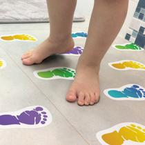 Adesivo Piso Banheiro Antiderrapante Infantil Pezinhos - Quartinhos