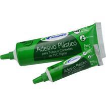 Adesivo Plástico para PVC Bisnaga 75G Amanco -