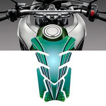 Adesivo Protetor De Tanque Tank Pad para Moto Universal Verde Traxx - Racechrome