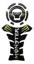 Adesivo Protetor Tanque Moto Resinado Monster Energy - Wfmotos