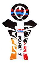 Adesivo Protetor Tanque Moto Resinado Moto Ronda Racing - Wfmotos