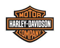 Adesivo Resinado Logo Harley Davidson Moto Carro Notebook - Sportinox