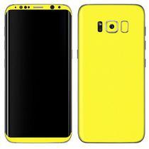 Adesivo Skin Premium - Jateado Carbono Samsung Galaxy S8 -