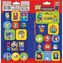 Adesivo Sticker Duplo Grafons Luccas Neto - Tilibra