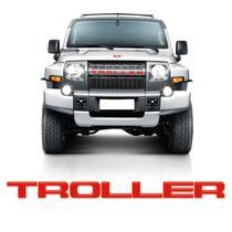Adesivo Troller 2015/2019 Novo Grade Frontal Relevo Resinado - SPORTINOX