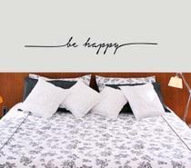 Adesivos Decorativo Frases Be Happy - Pimenta Criativa