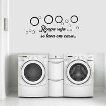 Adesivos Decorativo Frases Lavanderia - Pimenta Criativa