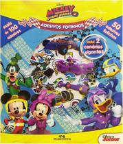 Adesivos Fofinhos  Mickey Aventuras Sobre Rodas - Melhoramentos