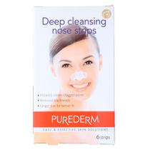 Adesivos para a Limpeza Profunda do Nariz Purederm Deep Pore Cleansing Nose Strips -