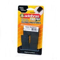 Adesivos Protetores Feltro Prático Quadrado 30x30mm Adelbras -