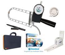 Adipômetro Cientifico com estadiômetro e Software de avaliação física Physical Test 8 Vitalício - Prime Med