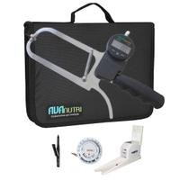 Adipômetro plicômetro ciêntifico digital + estadiômetro nutricionista educação avaliação física - Avanutri