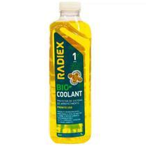 Aditivo para radiador bio coolant super concentrado amarelo 1 litro radiex rad1897 -