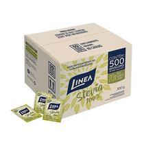 Adoçante 100% Stevia Linea Contendo 500 Envelopes De 600mg Cada -