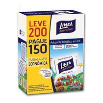 Adoçante Dietético Em Pó Linea Sucralose - 200 x 160g -