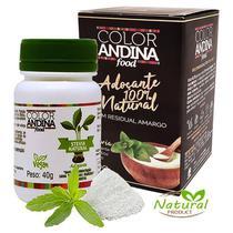Adoçante dietético Stévia 40g - Color Andina Food -