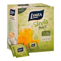 Adoçante em Pó Linea Stevia 100% 6g 50 Envelopes -