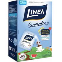 Adocante em Po Sucralose Sache 0,8g CX 100 UN Linea -