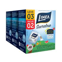 Adoçante em Pó Sucralose Sachê - 3 Embalagem c/ 50 unidades 0,8G (Promoção Leve 3 e Pague 2) - Linea -