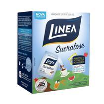 Adoçante Linea Sucralose Pó Sache 0,8g - 6 Pacotes c/ 50 unidades -