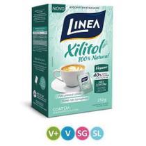 Adoçante Linea Xilitol - Sachê, 5g, 50 Unidades -