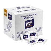 Adoçante Sachê Sucralose em Pó Caixa com 1000 Envelopes de 0,6g Linea -