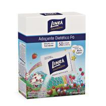 Adoçante Sachê Sucralose em Pó Caixa com 50 Envelopes de 0,6g Linea -